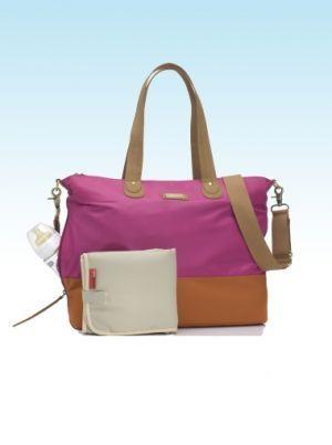 Storksak Tote Fuchsia Changing Bag | Nursery Furniture | Baby Accessories Ireland | Cribs.ie