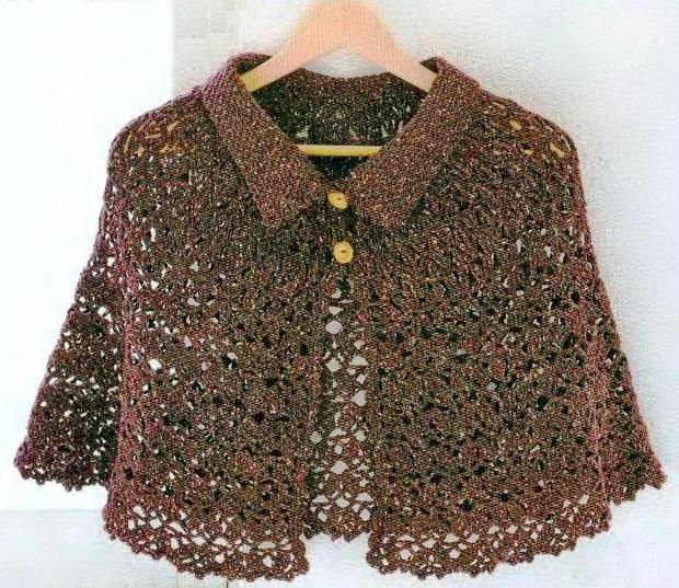 Crochet Shawls Patterns Free Only | Crochet Shawls: Crochet Cape Pattern Free For Women - Classic Cape and ...