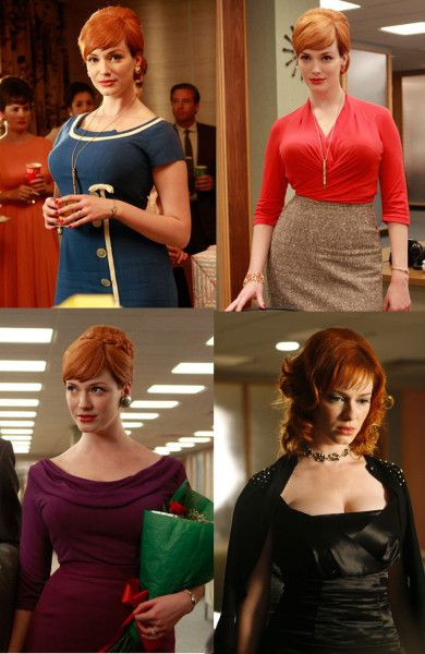 Mad Men:  Don Draper is smooth.  Roger Sterling is hilarious.  But Joan Holloway is the reason I watch this show.  Christina Hendricks, you are phenomenal and heartbreaking and inspirational.