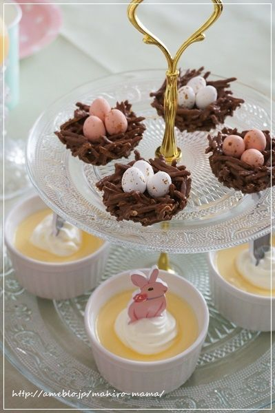 pastel Easter party ideas