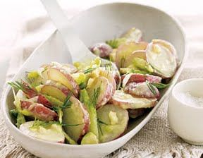 dilly baby red potato salad | Flat Belly Diet Recipes | Pinterest