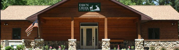 Fawn Creek Winery in Wis. Dells.