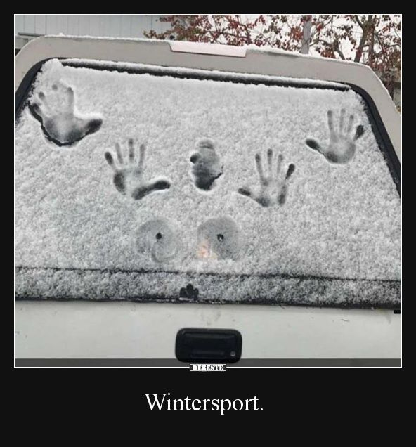 Wintersport.