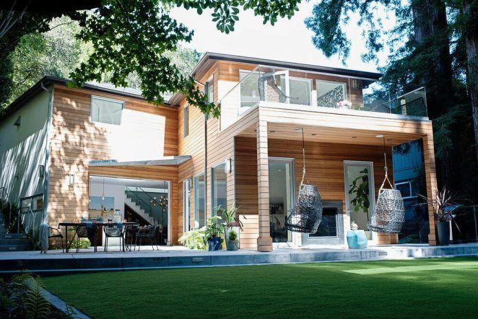 Casual Hip Marin County by Regan Baker Design - CAANdesign | Architecture and home design blog