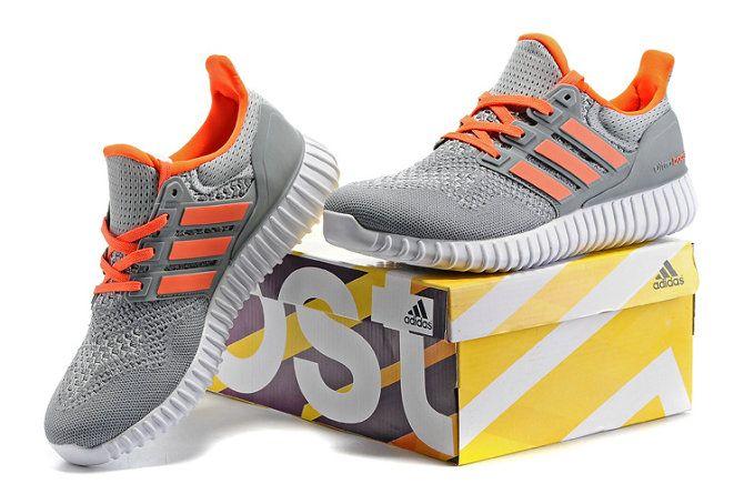 4ffcdfcca31d0 2018 Buy Adidas Yeezy Ultra Boost 2016 Cool Grey Metallic Silver Total  Orange