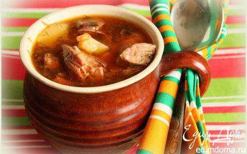 Бограч (венгерский гуляш по-закарпатски) | Кулинарные рецепты от «Едим дома!»