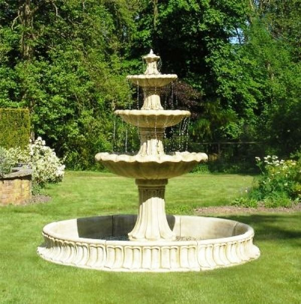 43 best fuentes de jardin images on pinterest | garden fountains