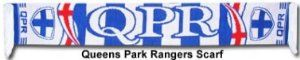 Queens Park Rangers Scarf by Queens Park Rangers. $11.98. This Queens Park Rangers jacquard scarf is ideal for all Rangers fans and is available for immediate delivery. 100% Acrylic