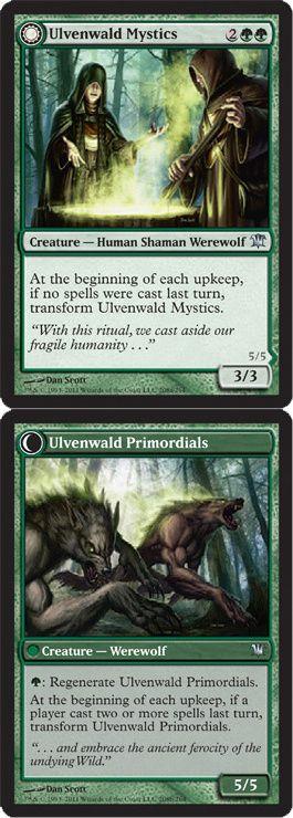 Magic The Gathering Innistrad: Ulvenwald Mystics - Ulvenwald Primordials Card Kingdom