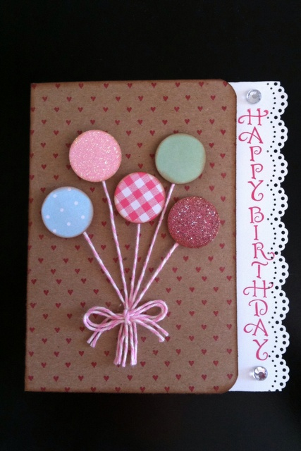 Denami Design Balloon Card