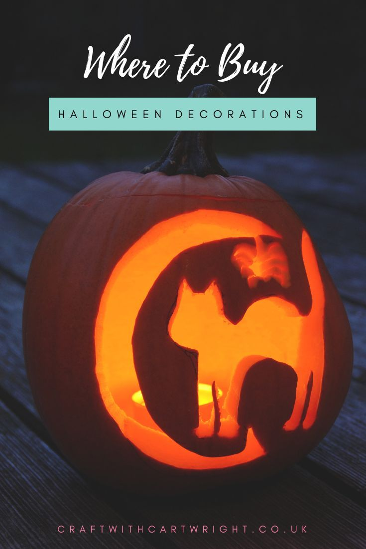 Where to Buy Halloween Decorations Craft with Cartwright