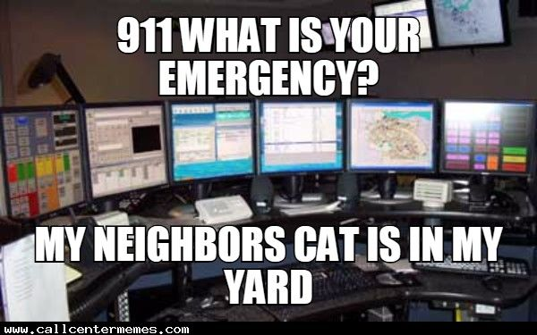 Tales from a 911 dispatcher - http://www.callcentermemes.com/tales-from-a-911-dispatcher/
