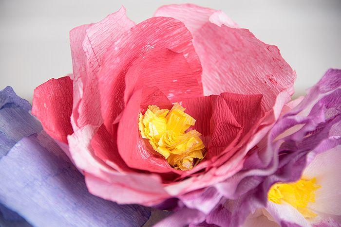 DIY Paper Flower Cake Topper Idea - Darice