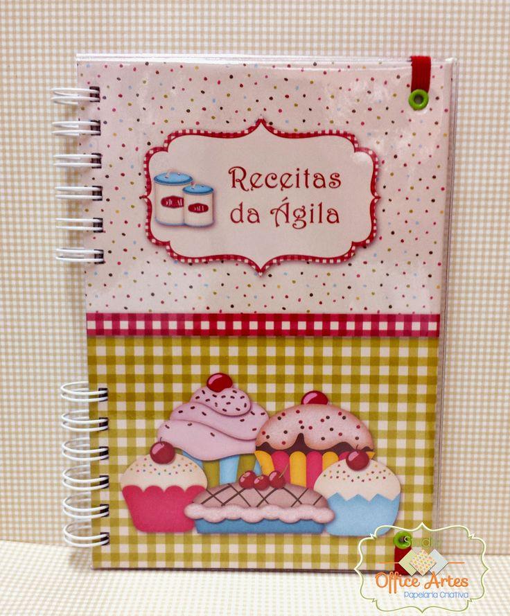 Caderno de Receitas - Studio Office Artes