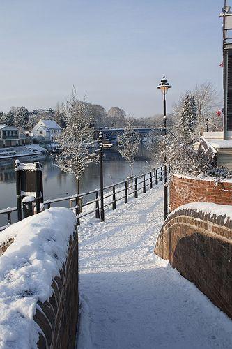 River Severn at Stourport, England