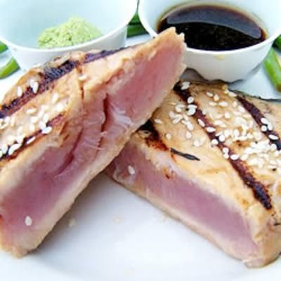 Sesame Seared Tuna for Bryan & Bryan