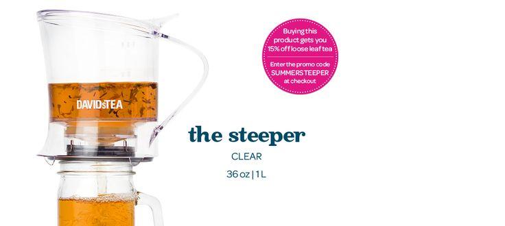 The Steeper (36oz) by DavidsTea