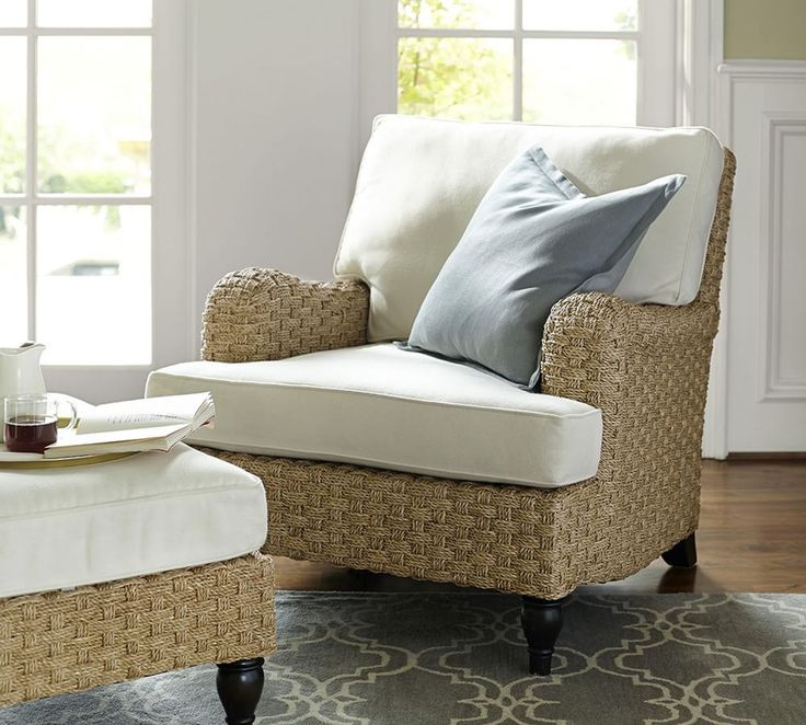 fisher woven seagrass armchair living room furniture salerooms barnoutdoor
