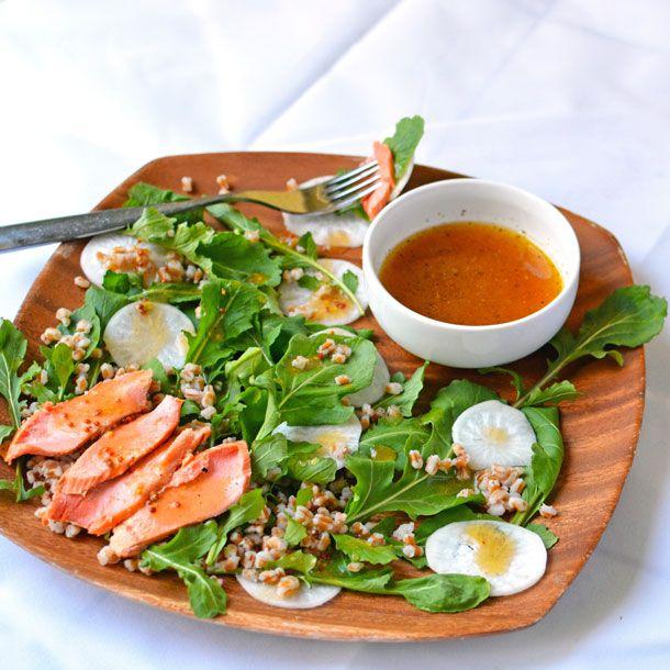 Arugula and White Turnip Salad