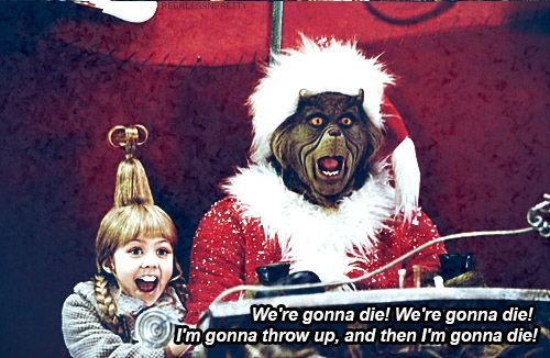 "Because ""keep calm and carry on"" is certainly not your philosophy. 