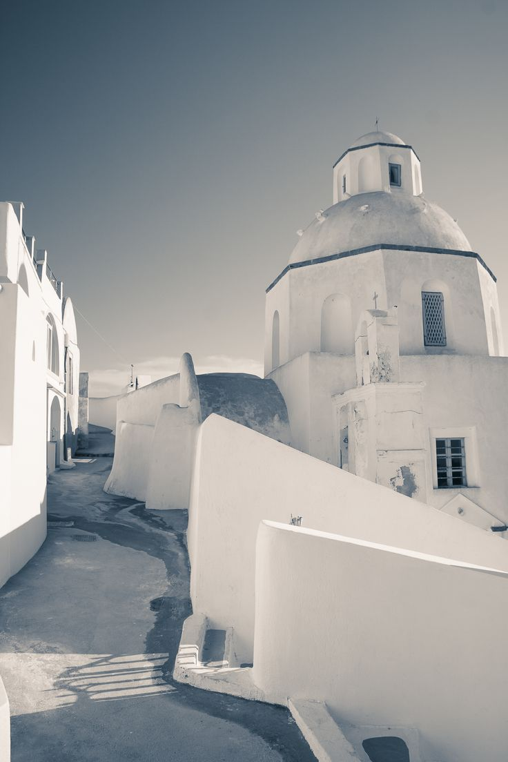 Agios Minas in Santorini   Eva Rendl Photography #santorini #greece #fira #church