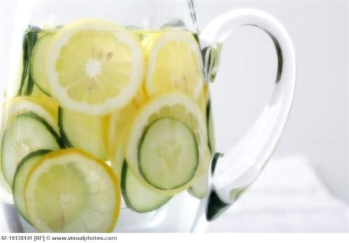 Sassy water is a liquid cleanse, where some people have reported to lose 7 pounds in 4 days! The recipe is simple and healthy.     1. Fill a pitcher with pure water.     2. Slice a lemon very thinly and put it in the water. You don't need to squeeze out the juice, just to drop the slices in.     3. Peel and thinly slice one cucumber, and add it to the water. At 12 fresh, clean mind leaves.     4. Add one teaspoon of finely grated ginger. It has to be fresh; not the dried powder.     5. Stir the water and leave it in the fridge overnight. Make a fresh batch every day, for 4 days! WAHOO!Sassy Water, Cucumber Water, Flats Belly Diet, One Teaspoon, Detox, Lemon Water, Flavored Water Recipe, Drinks, Water Recipes