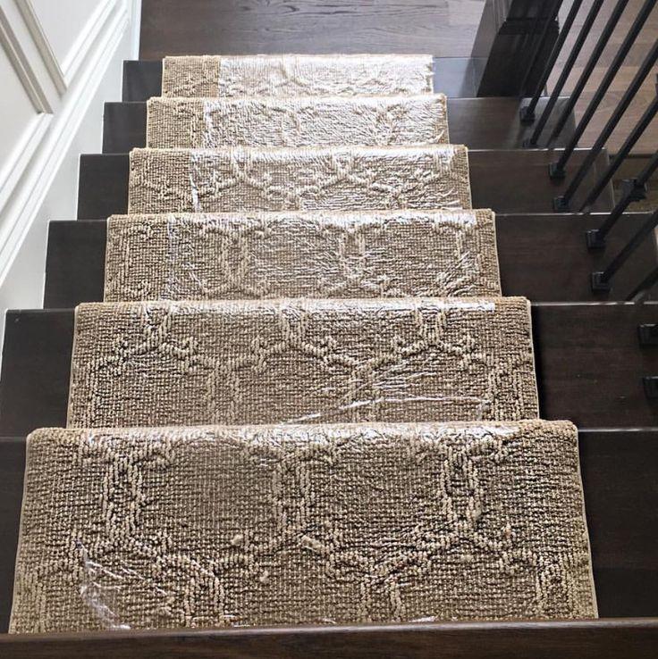 Best Patterned Carpet Runner On Dark Hardwood Stairs 400 x 300