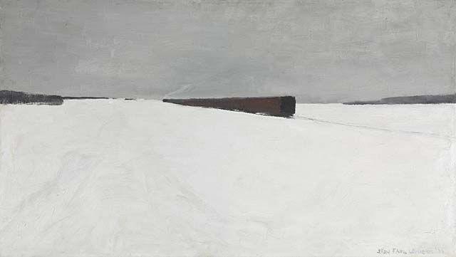 The Noon train, 1956, Jean-Paul Lemieux