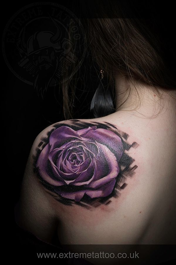 Best 25 purple rose tattoos ideas on pinterest purple for Can you get purple roses
