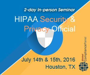 Being the HIPAA Security and Privacy Official involves not only ensuring you know the appropriate patient rights and controls on your uses and disclosures of protected health information, but you also have the proper policies and procedures in place. http://www.globalcompliancepanel.com/control/globalseminars/~product_id=900510SEMINAR
