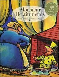 Monsieur Ilétaitunefois - Pierre Pratt (illustrations - 1998)