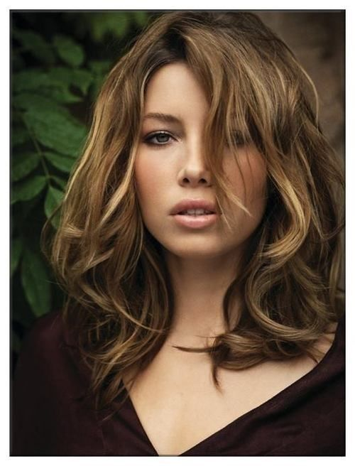 Wondrous 1000 Ideas About Wavy Medium Hairstyles On Pinterest Medium Short Hairstyles Gunalazisus