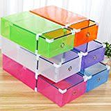 Image result for cheap stackable shoe containers