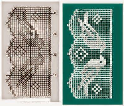 Como tricotar Crochet Filet # 1 / Curso Crochet Online Grátis