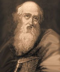 St. Polycarp of Smyrna, was converted to Christianity by St. John the Evangelist. He was a disciple of the apostles and friend of St. Ignatius of Antioch. He was ordained bishop of Smyrna (now Izmir, Turkey) and was about eighty-six when the Roman pro-consul urged him to renounce Christ and save his life. He suffered martyrdom in 155 by burning at the stake in the amphitheater of Smyrna. #Catholic #saintoftheday #prayforus #StPolycarp