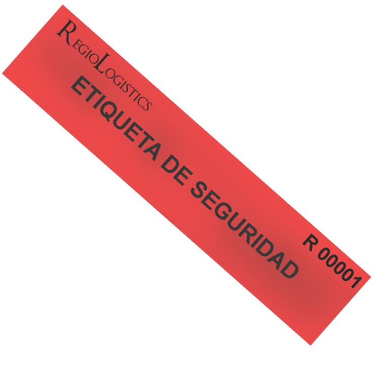Etiquetas de Seguridad para transportes y almacenaje.