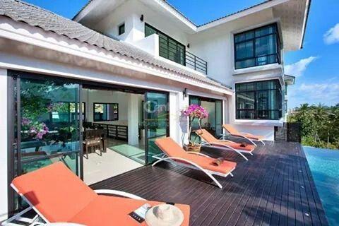 #nice modern villa in Bophut