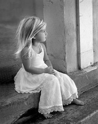 Stunning little girl