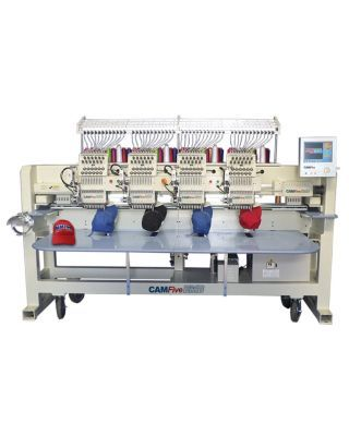 CAMFive EMB CT1204 Four Heads Professional - Industrial Embroidery Machine