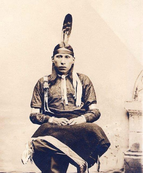Perry King - Osage - circa 1890