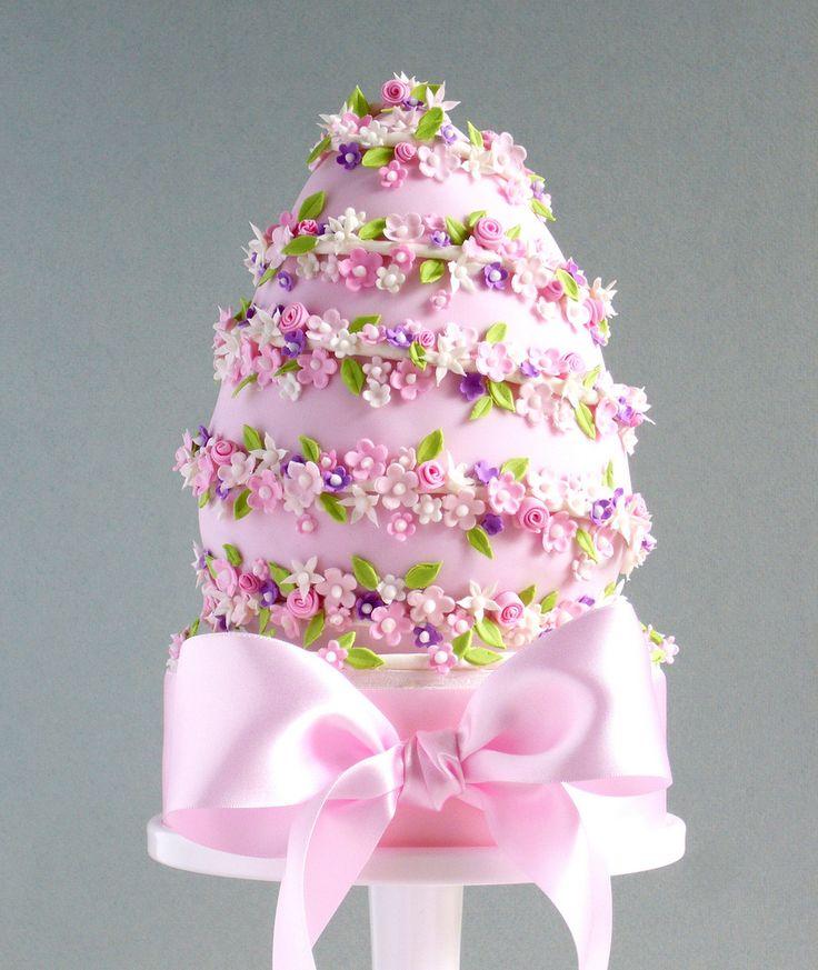 Pink Egg Cake