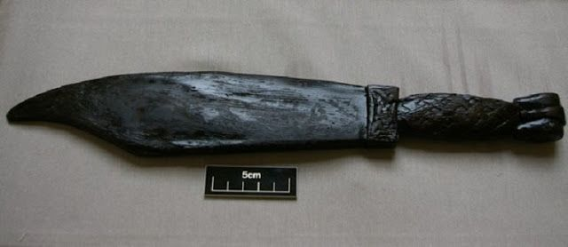 The Archaeology News Network: Perfectly preserved Viking weaver's sword found in...