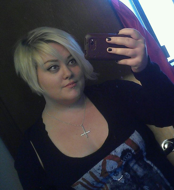 fat girls + short hair = YES!