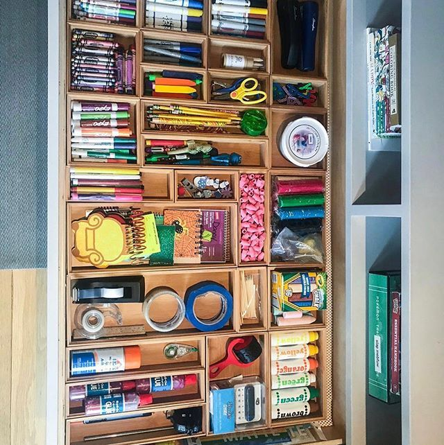 The Perfect Solution To The Arts And Crafts Drawer Drawer