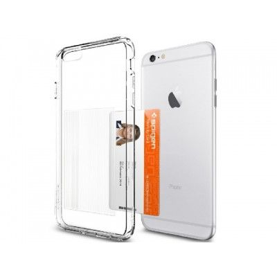 Чехол SGP Ultra Hybrid для iPhone 6/6s Plus (5.5) SGP11283 (ID Crystal clear PET)