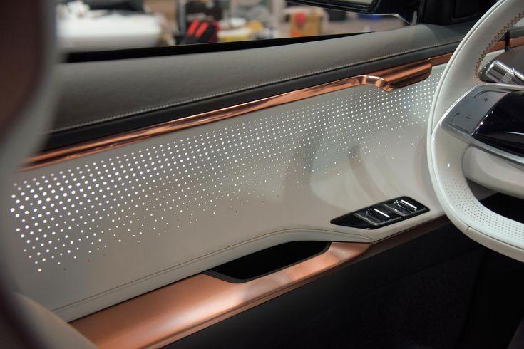 Kia Niro Ev Concept Innendetail Turverkleidung Autodesign Turverkleidungen Verkleidung
