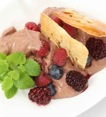 Delicia crocante de chocolate #receta #light - Riquísimo y con bajas calorías! -