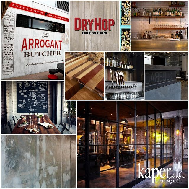 www.stainlesssteeltile.com likes Kaper Design; Restaurant & Hospitality Design Inspiration: Completed Projects