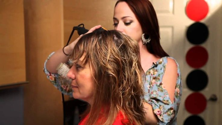 How to Wear Shoulder Length Hair Over 50