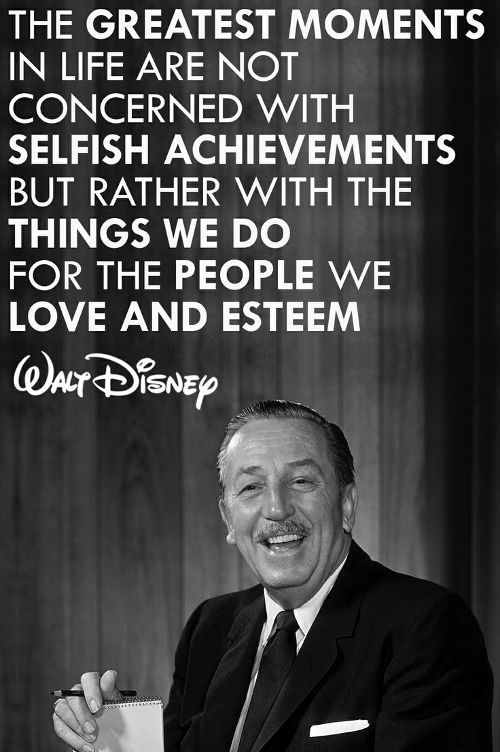 walt disney likes and dislikes in a relationship